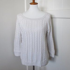 3/$25 American Eagle | Cable Knit Long Sleeve